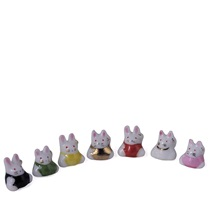 Ceramic Mini Figurine - Rabbit