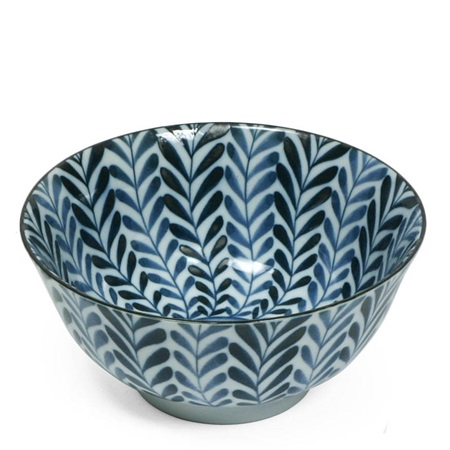 "Shidae Ferns 6"" Bowl"
