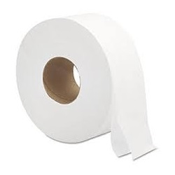 "Jumbo Jr Toilet Paper 2 Ply 9"" Core"