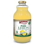 Lemon Juice, Organic - 32oz