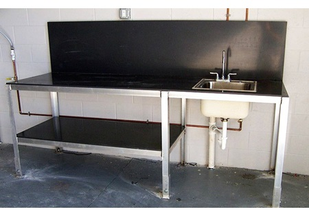 Custom Aluminum Work Station for Mix-N-Load Tank Systems