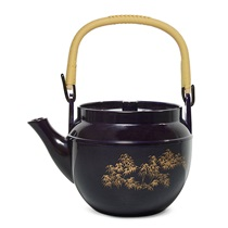 Purple Melamine Teapot - 34 Oz.