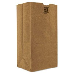 25# SHORT GROCERY BAG, 8-1/4 X 6-1/8 X 15-7/8,
