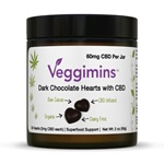 Veggimins Hemp 2mg CBD Hearts (30)