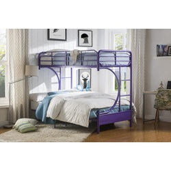 02081PU PURPLE T/F BUNKBED