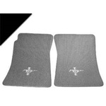 Custom Full Size Carpet Floor Mats Convertible (Black)