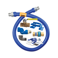 Dormont Manufacturing 1650KITS48PS Dormont Blue Hose� Moveable Gas Connector Kit
