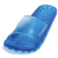 Zendals Sea Glass Slide Spa Sandal, Aqua-Small