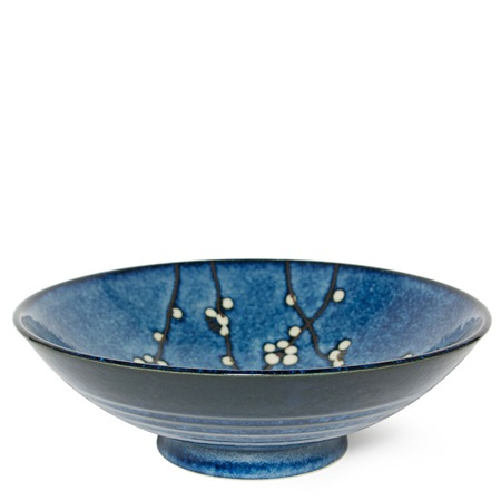 "Namako Blossoms 9.75"" Serving Bowl"