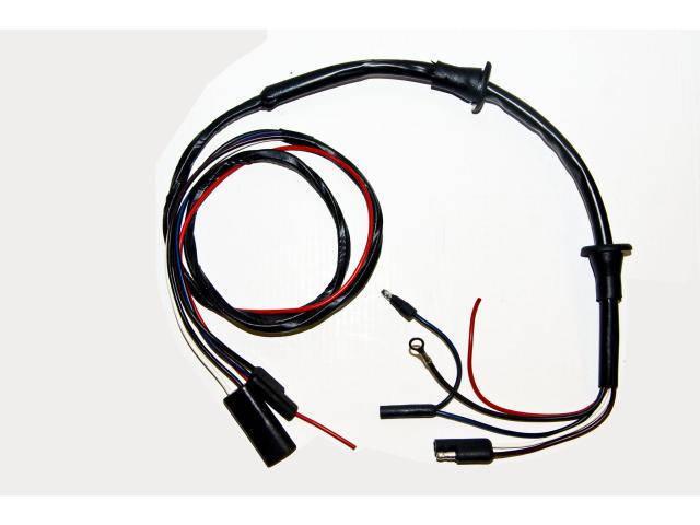 67 68 door lite wire w spkrsc7zz 13a769 a 68 Mustang Dash