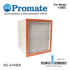 "Filter: HEPA for Nutripure® Model 7-ASC (12"" x 14"" x 12"")"