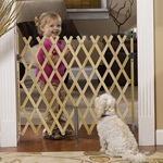 "KeepSafe® 36"" Wood Expansion Gate, Hrdw. Mounted ""TOS"""