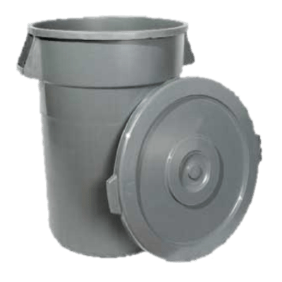Winco PTCL-44 Lid for 44 Gallon Trash Can
