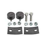 Radiator mounting pad kit