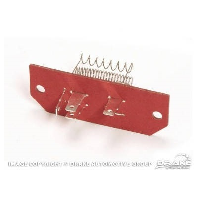 1967 Mustang Heater Resistor Assembly (3-speed, w/ AC)