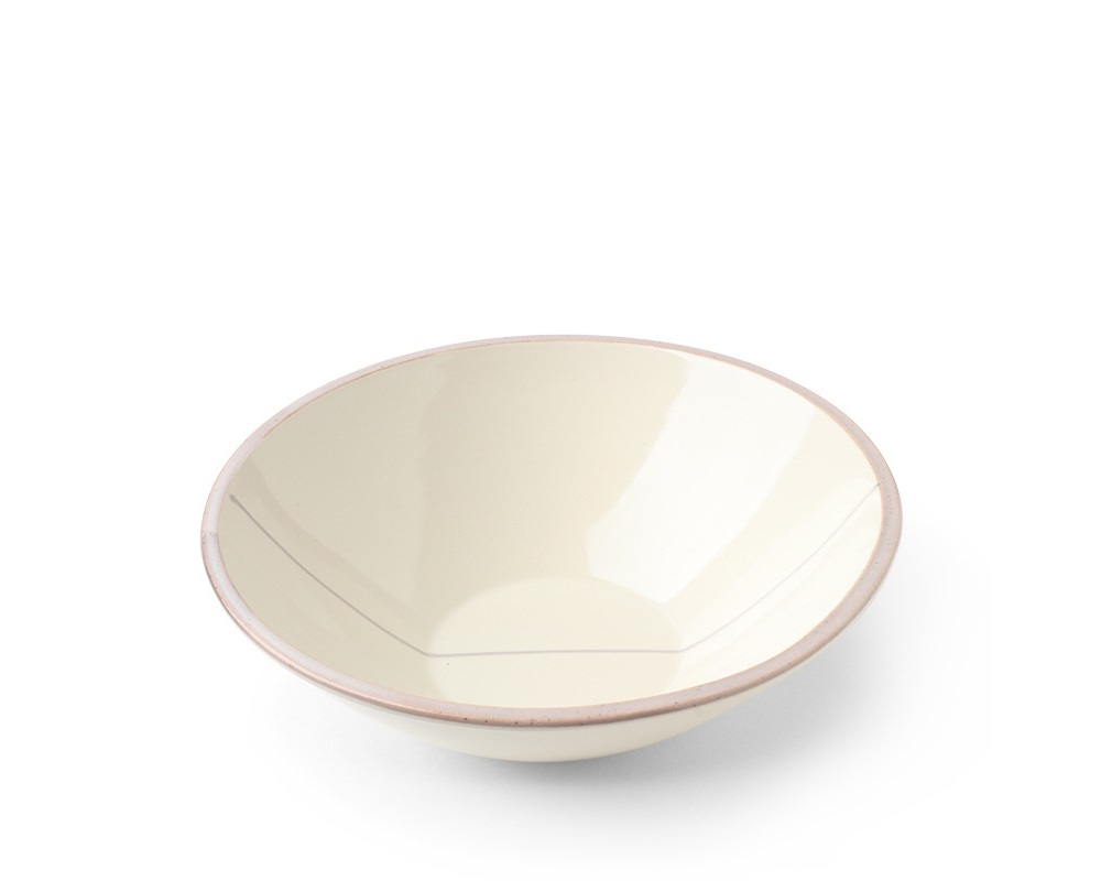 "Shiratama 6"" Shallow Bowl"