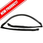 Convertible Front Header Bow Weatherstrip