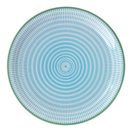 "Sen Colors 9.75"" Plate - Blue"