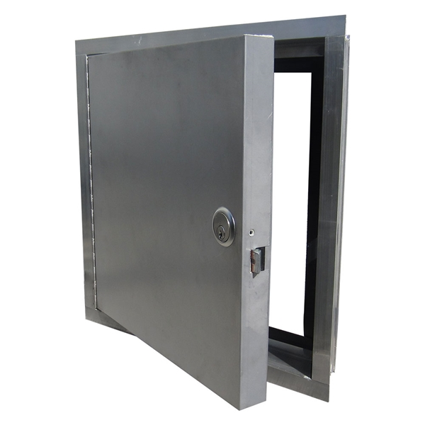 Bon ... Exterior Access Door With Mortise Lock