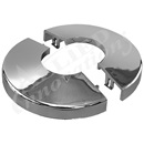 ESCUTCHEON: SNAP-TITE, CHROME (2-PIECES)