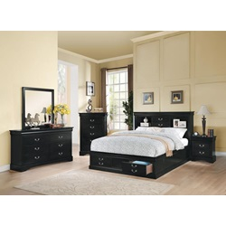 24387EK_KIT LP III BLACK EK BED W/STORAGE