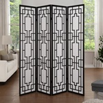 98290 4-PANEL WOOD SCREEN