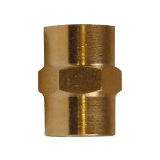 "1/4"" Female Brass Coupler"