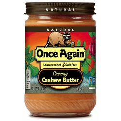 Cashew Butter, Smooth - 16 oz