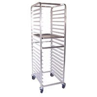 Sammons 9581-BLHD-20 Aluminum End Loading Racks