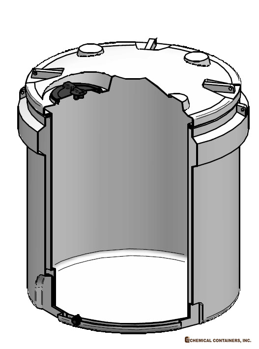 CCI - 1000 Gallon Double Wall Storage Tank - 77