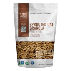 Sprouted Oat Granola (Quinoa Cacao), ORG - 11oz