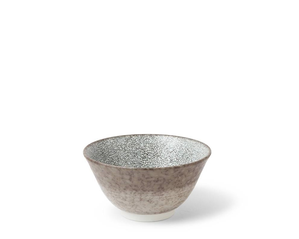 "Hiware Gray 4.5"" Rice Bowl"