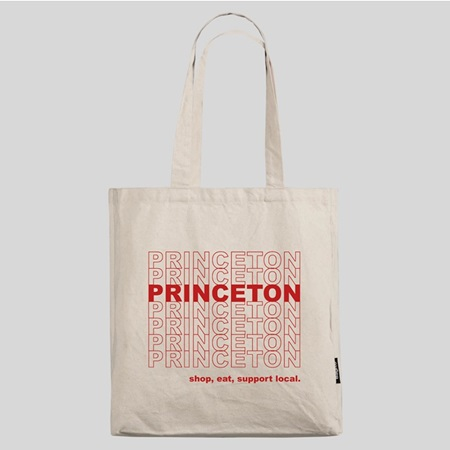 Princeton Shop Local Cotton Tote