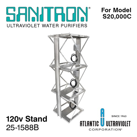 SANITRON Stand for Model S20,000C UV Water System