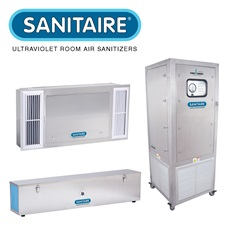 SANITAIRE® UV Room Air Sanitizers 72-2680 CFM