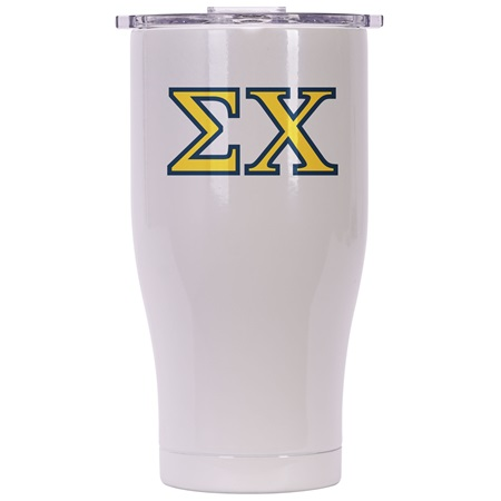 Sigma Chi Pearl/Clear Chaser 27oz
