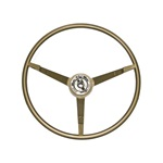 1965 Mustang Standard Ivy Gold Steering Wheel