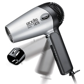 Andis Ionic Retract-A-Cord Hair Dryer, 1875w
