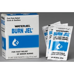 BURN JEL 25-PACK DISPENSER