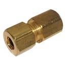 "COMPRESSION FITTING: 1/8"" FIP X 1/4"" OD BRASS"