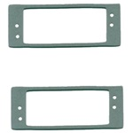 Interior door light gasket
