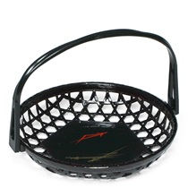 TEMPURA BASKET W/HANDLE 7.75""
