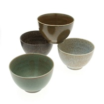 Bowl Set Pacific Forest Matte 5""