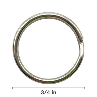 "3/4"" Light Split Ring"