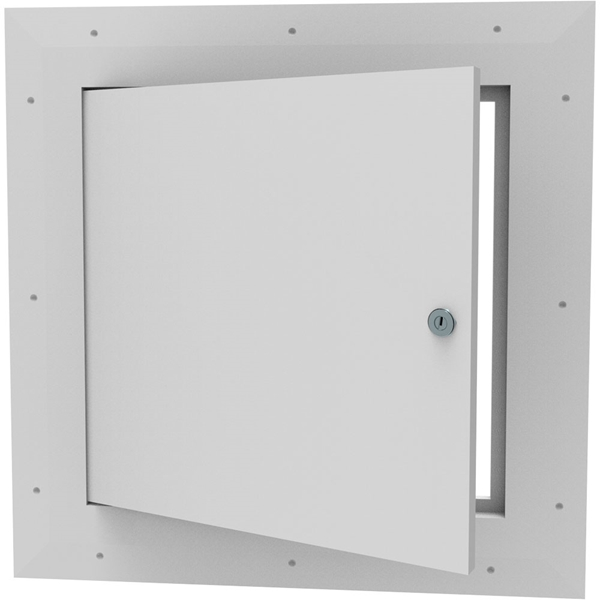 Perfect ... Concealed Hinged Access Door   Square Corner With Keyed Cam Lock