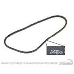 Alternator Belts (65-67 289 HiPo)