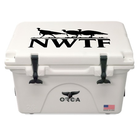 NRA White 26qt ORCA Cooler