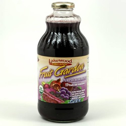 Fruit Garden Purple Harmony (Lakewood), Organic - 32oz (Case of 12)