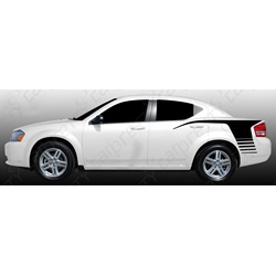 2008-2014 Dodge Avenger Quarter Panel Hockey Kit