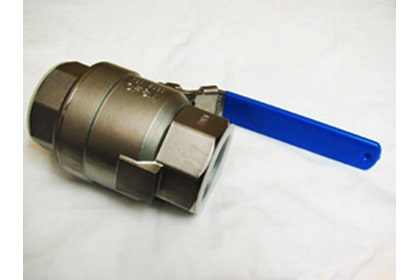"2"" FPT Full Port Locking Handle Ball Valve - 316 Stainless Steel"
